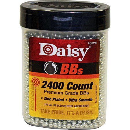 DAISY 2400-COUNT PRECISIONMAX BB BOTTLE