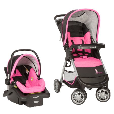 Disney Baby Minnie Mouse Amble Quad Travel System, Minnie Pop