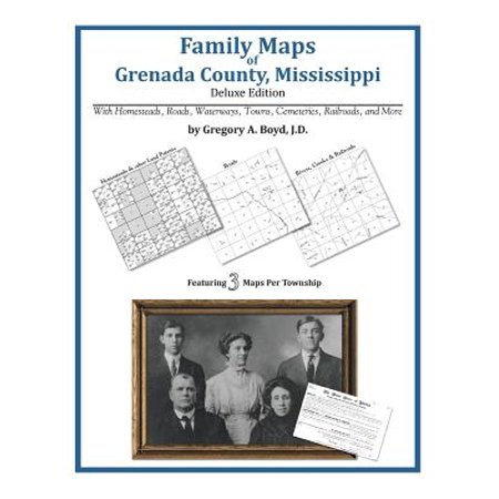 Family Maps of Grenada County, Mississippi