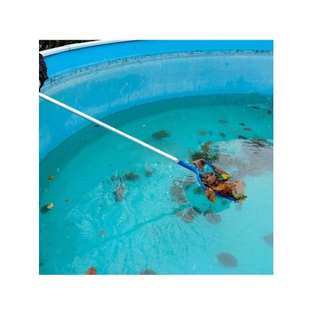Pond Swimming Pool Spa Hot Tub Leaf Pole Skimmer Rake Mesh Clean Net Telescopic - image 4 de 7