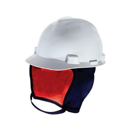 MSA 10062497 Winter Hard Hat Liner, Flame-Resistant Shell, Blue](Construction Helmet)