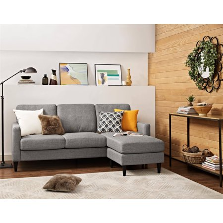 Dorel Living Kaci Sectional, Reversible, Multiple Colors ()