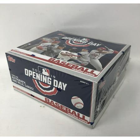 Topaz Pack (Topps 2019 Opening Day Baseball Retail Display Box (36)