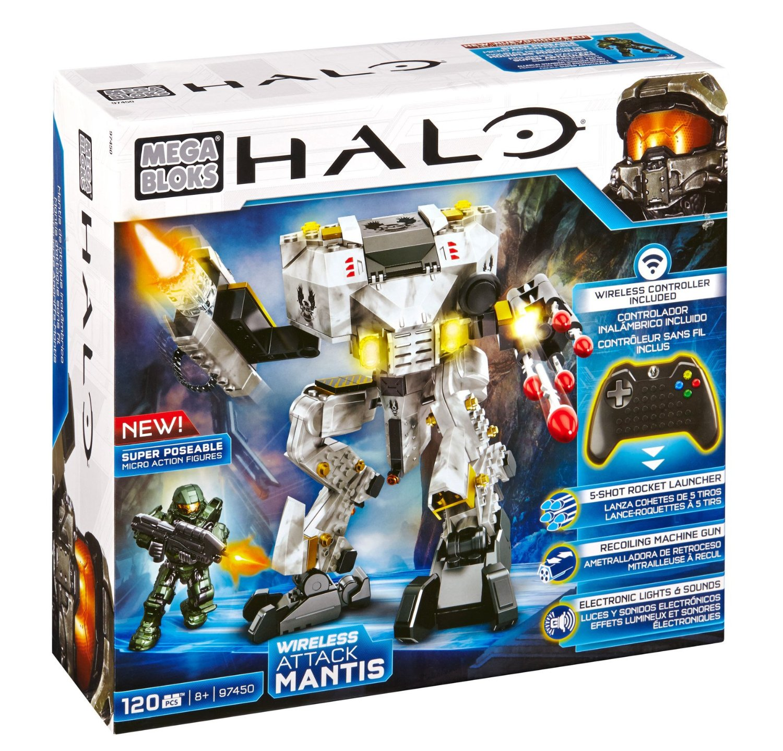 Mega Bloks Halo UNSC Auto Mantis Attack
