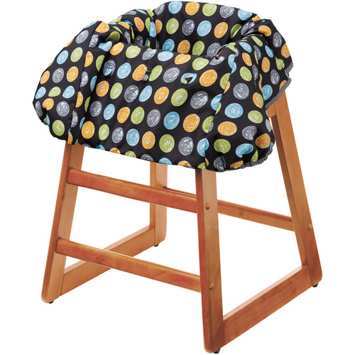 Evenflo - Multi-Use High Chair and Shopping Cart Cover, Crayon Scribbles