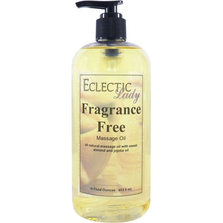 Fragrance Free Massage Oil, 16 (Oil Free Massage)
