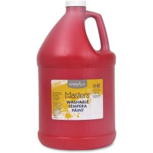 Rock Paint Distribution Corp 214-720 Handy Art Little Masters Washable Tempera Paint Gallon - 1 Gal - 1 Each - Red