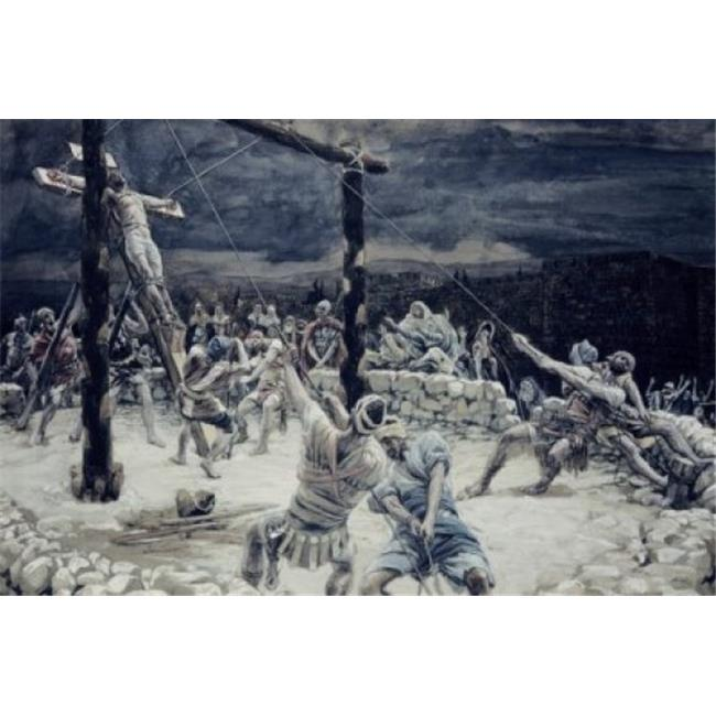 Posterazzi SAL9999294 Raising of the Cross James Tissot 1836-1902 French Poster Print - 18 x 24 in. - image 1 of 1