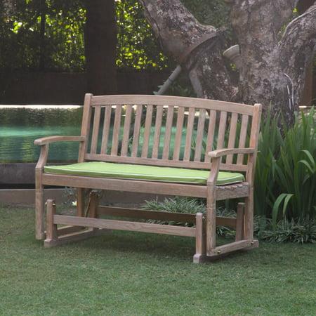 Cambridge Casual Teak Glider Garden Bench