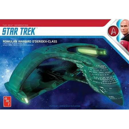 AMT 1125 Star Trek Romulan War Bird D'Deridex Class STTNG 1/3200 Scale Model (Startrek Plastic Model Kits)