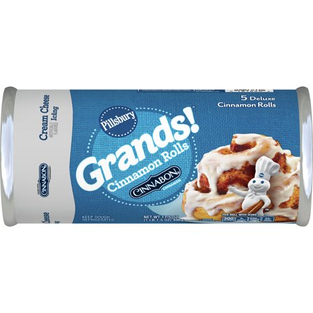 Pillsbury Grands! Cinnamon Rolls with Cream Cheese Icing - 17.5oz/5ct