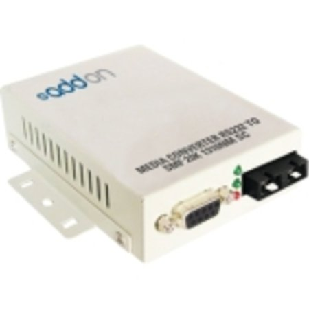 Addon Serial Rs232 To Fiber Smf 1310nm 20km Sc Serial Media Converter - 100% Compatible And Guarant - image 1 of 1