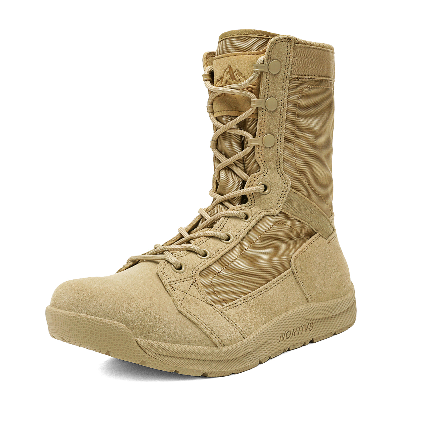 NORTIV 8 Men/'s Military Tactical Combat Boots Army Hiking Lightweight Work Boots