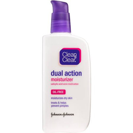 Clean   Clear Essentials Dual Action Oil Free Moisturizer  4 Fl Oz