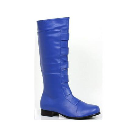 Adult Blue Superhero Boots - image 1 de 2