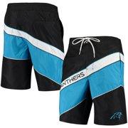 Carolina Panthers G-III Sports by Carl Banks Rookie Swim Trunks - Black/Blue