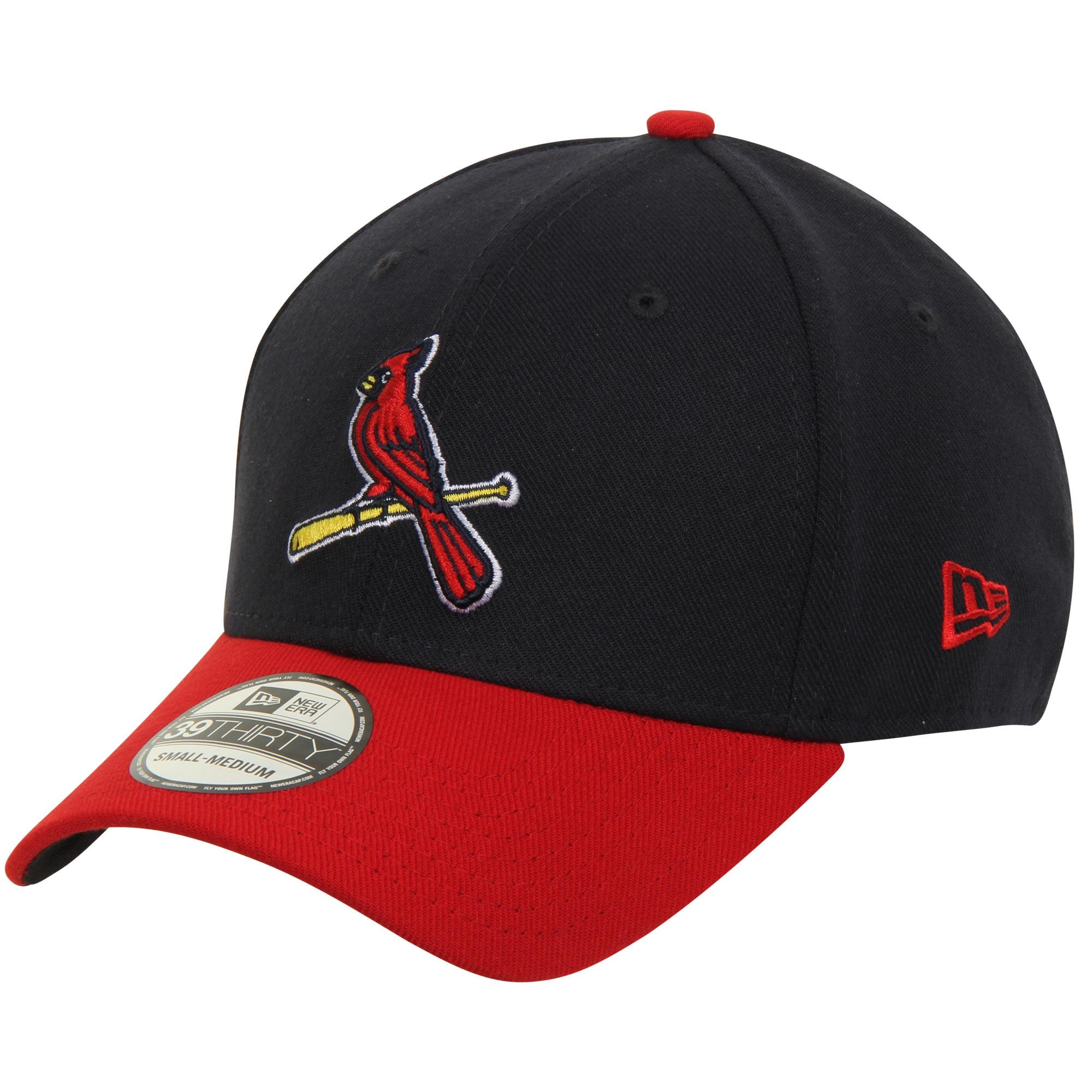 00010e344 St. Louis Cardinals New Era MLB Team Classic Alternate 39THIRTY Flex Hat -  Navy/Red