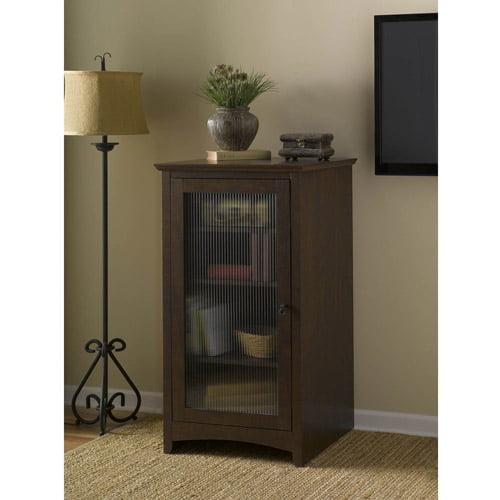 Bush Furniture Buena Vista Audio Cabinet Bookcase - Walmart.com