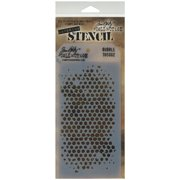 "Tim Holtz Layered Stencil 4.125""X8.5""-Bubble"