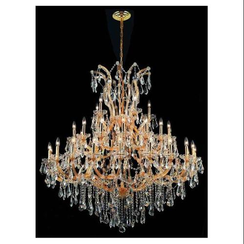 Elegant Lighting 2801G52G/RC Chandeliers Maria theresa