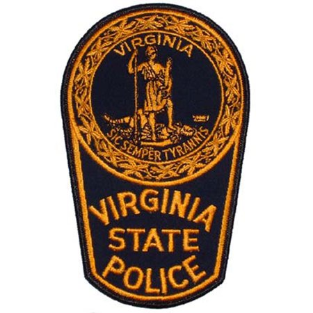 """Virginia State Police Patch 3"""""""