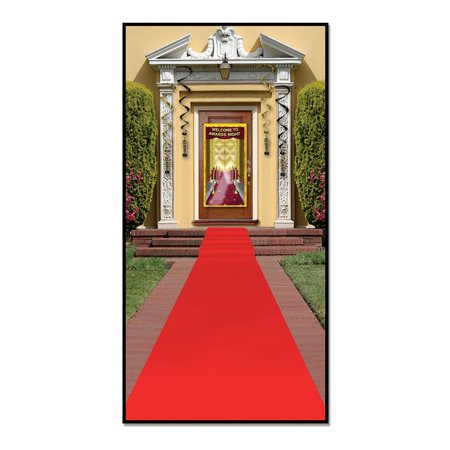 Pack of 6 Awards Night Themed Red Carpet Runner Party Decorations 15'](Awards Night Decorations)