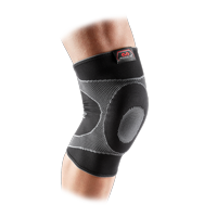 McDavid Gel Knee Brace Sleeve. Elastic Compression Sleeve for Pain, Recovery, Injury. Increases Blood Flow and Stability of the Patella. Left or Right Leg. Arthritis, Bursitis, Tendonitis