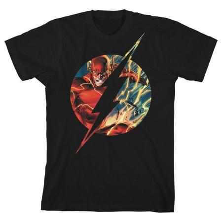 Boys Flash TShirt Superhero Clothing Youth Justice League Shirt-X-Small