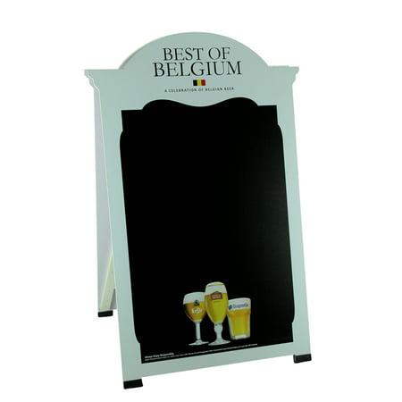 Best Of Belgium Beer Double Sided Chalkboard Sandwich