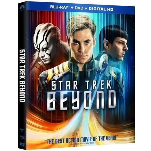 Star Trek Beyond (Blu-ray + DVD + Digital HD) (Walmart Exclusive) by