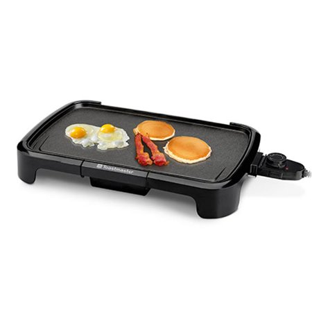 - Toastmaster TM-161GR 10 x 16 in. Electric Griddle