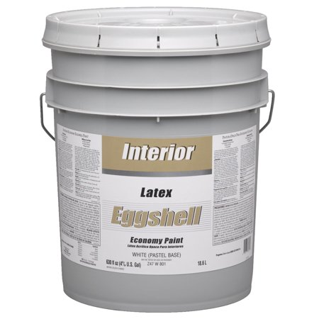Economy Latex Eggshell Interior Wall Paint