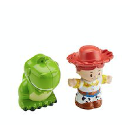 Little People Toy Story 4 Jessie & Rex 2 Pack - Jessie Toy Story Party Supplies