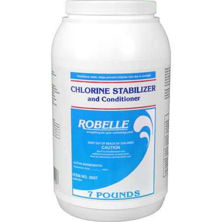 Robelle chlorine stabilizer and conditioner for swimming - What is swimming pool conditioner ...