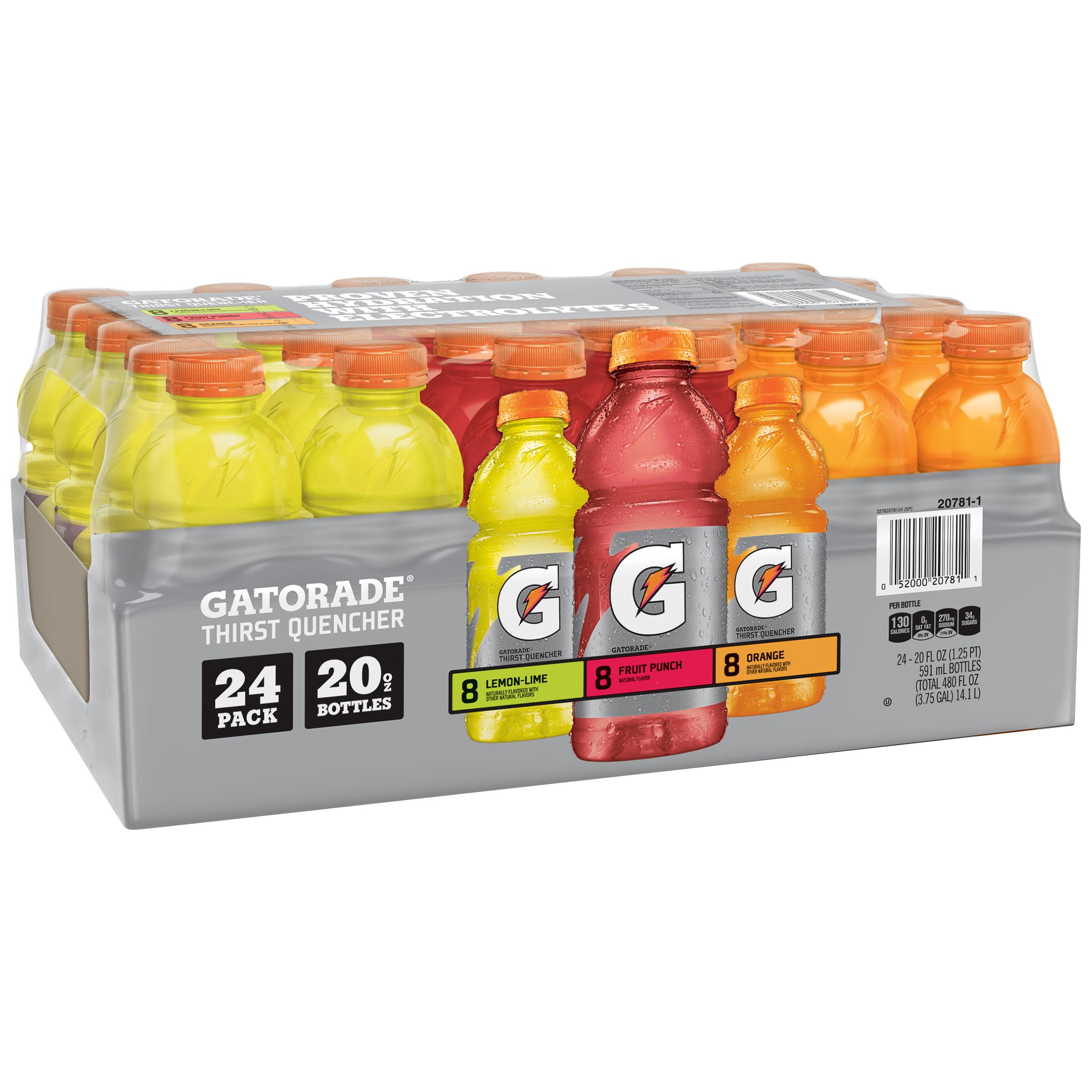 Gatorade® Thirst Quencher Variety Pack 24-20 fl. oz. Plastic Bottles