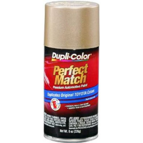 Duplicolor BTY1596 Perfect Match Automotive Paint, Toyota Cashmere Beige Metallic, 8 Oz Aerosol Can