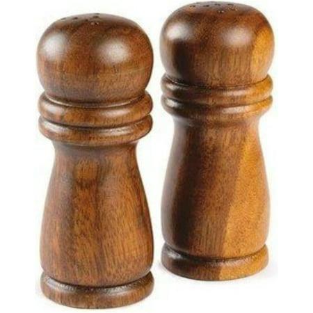 Salt & Pepper Shakers Acacia Wood 4 -