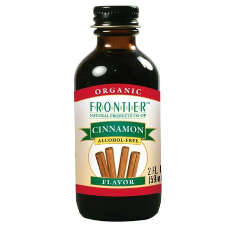 Frontier Mint Flavor ((2 Pack) Frontier Cinnamon Flavor Certified Organic, 2 Oz Bottle )