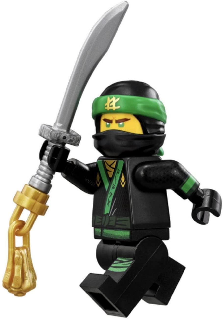 lego the lego ninjago movie minifigure lloyd green ninja
