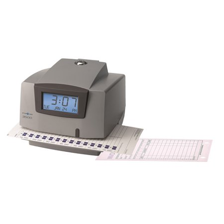 Pyramid Electronic Document Time Recorder (Pyramid Time Systems 3500 Electronic Time Clock & Document Stamp )