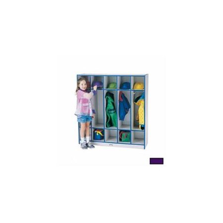 2681JCWW004 Rainbow Accents 5 Section Coat Locker - 50.5