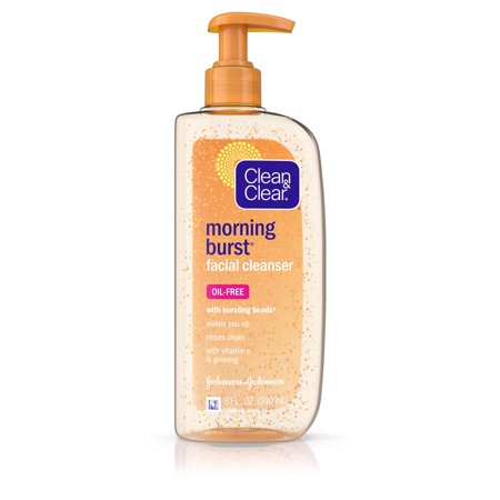 (2 pack) Clean & Clear Morning Burst Oil-Free Gentle Daily Face Wash, 8 fl.