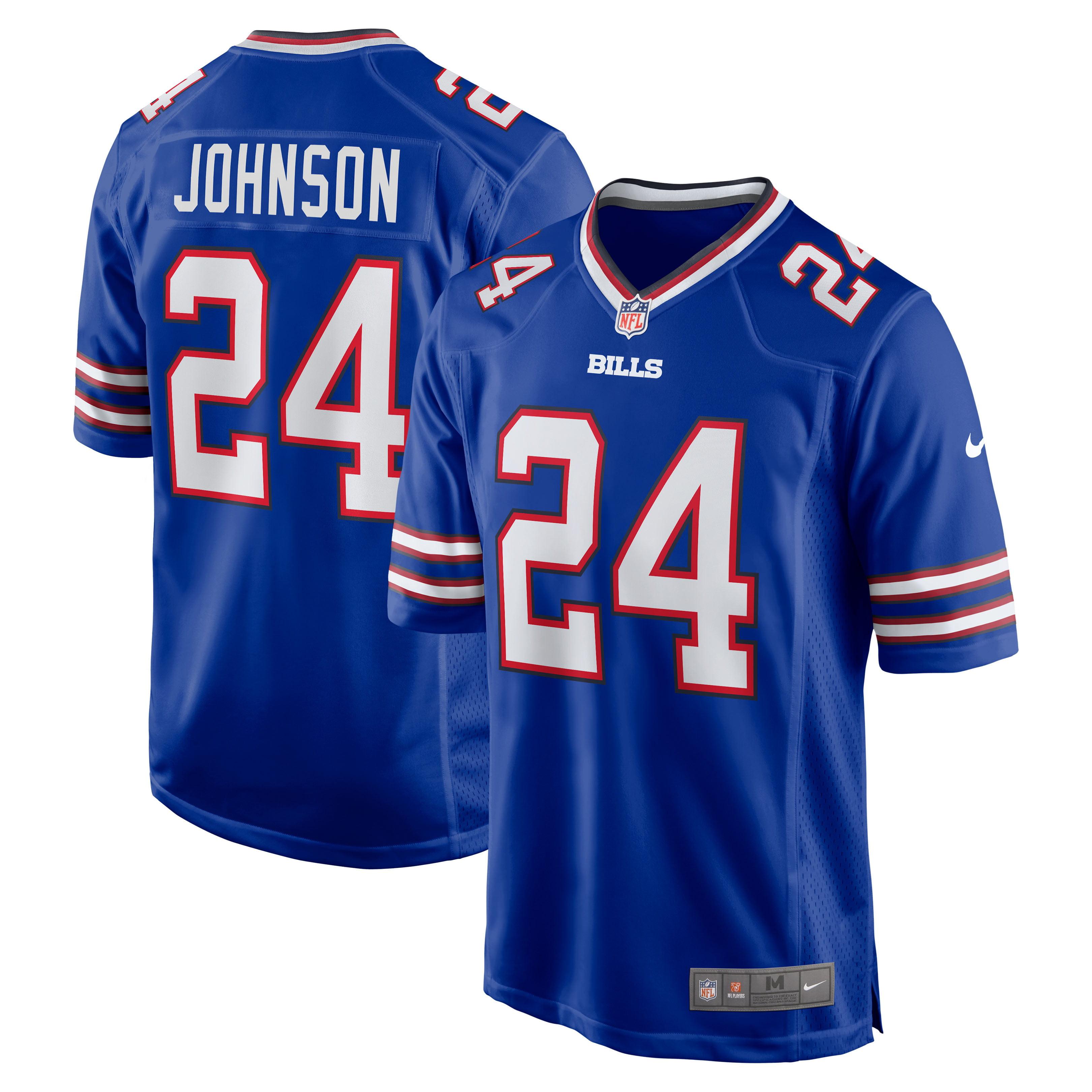 Taron Johnson Buffalo Bills Nike Game Jersey - Royal - Walmart.com