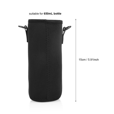 Garosa Water Bottle Sleeve Carrying Pouch Bag Holder for Outdoor Camping Hiking Fishing Water Bottle Holder Bag Water Bottle Pouch - image 8 of 10