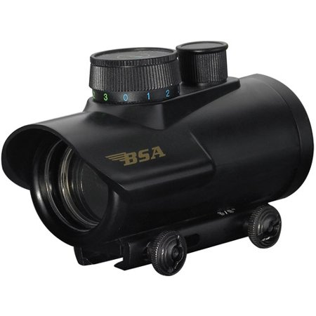 Bsa Huntsman Rifle Scope  30Mm  Illuminated Red  Green And Blue Dot