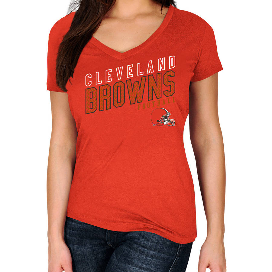 NFL Cleveland Browns Plus Size Women's Basic Tee