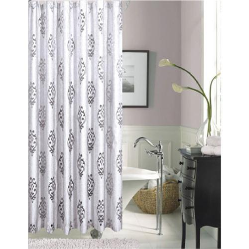 Tulip Floral Polyester Shower Curtain