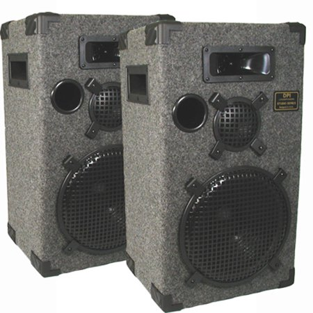 speakers studio pro dj way audio pa gray three monitor karaoke pair