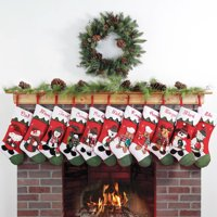 Personalized Snow Cap Christmas Stocking (11 Designs)