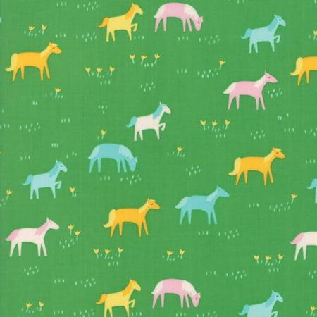 Moda Stacy Iest Hsu Best Friends Forever Green Horses